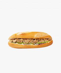 Bánh mì gà đồi sốt tương